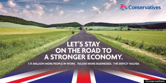 'Conservatives' Election Poster Features 'Road To Recovery' Shot Taken In