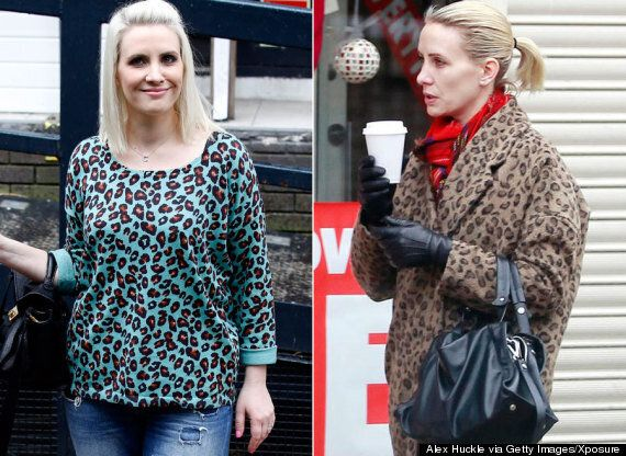 Claire Richards Steps Out Looking Slimmer Ahead Of Appearing On ITV's 'Get Your Act Together'