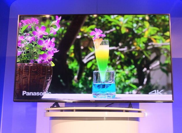 CES 2015: Panasonic, LG And Samsung Unveil New 4K TVs (And A New