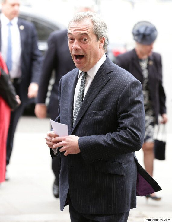Ukip '100% United' Says Nigel Farage After He Dispatches Two Of His Most Senior