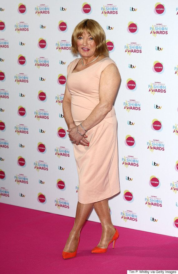 Kellie Maloney Makes First Red Carpet Appearance Since Gender Reassignment Surgery At Lorraine's High...