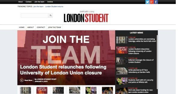 The London Student Relaunches Six Months After University of London Union