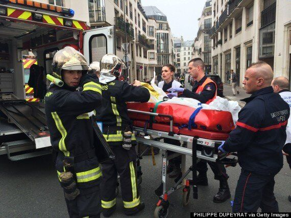 Paris Shooting At Charlie Hebdo Magazine Office Leaves At Least 12