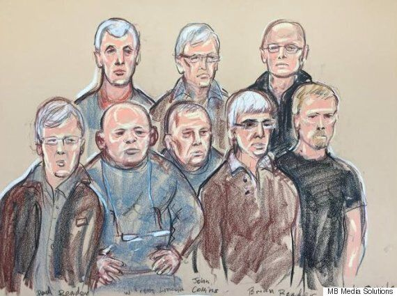 Hatton Garden Heist Eight Pictured In The Dock For The First Time, Before Being Remanded In