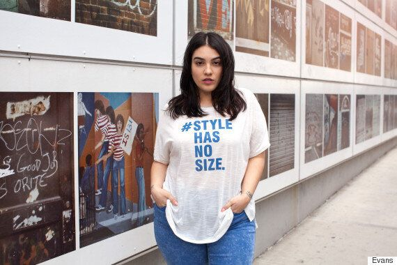 Evans Launches Body Positive 'Style Has No Size'
