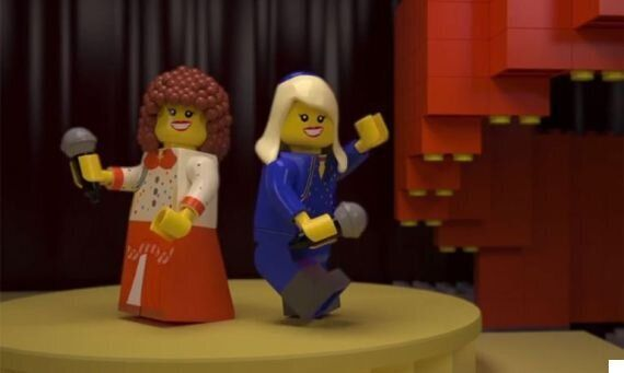 Eurovision Gets A Lego Makeover: Abba, Bucks Fizz, Lordi And Riverdance Turned Into Animated Plastic...