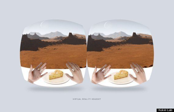 Project 'Nourished' Lets You Eat Anything By Using Virtual