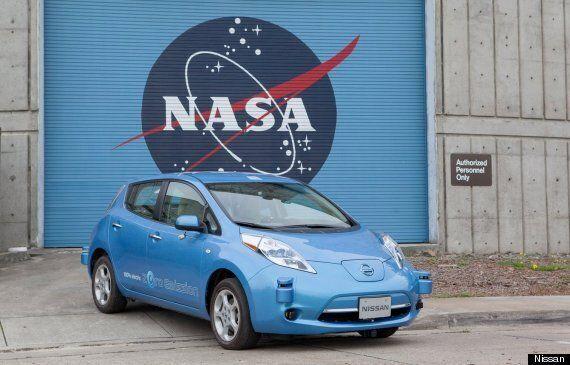 NASA And Nissan To Build Self-Driving Robot