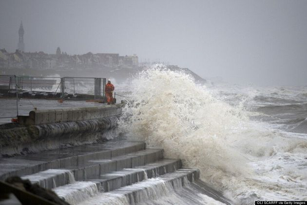 Record-Breaking Winds Batter Britain As Thousands Of Homes Remain Without