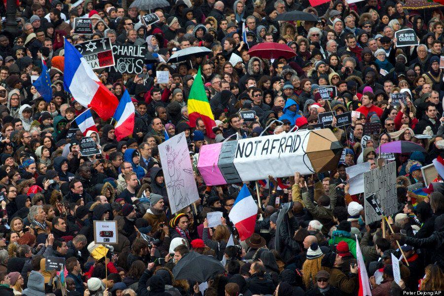 Historic Paris Rally Against Terrorism Draws 1 Million As Hollande Declares: 'Today, Paris Is The Capital...