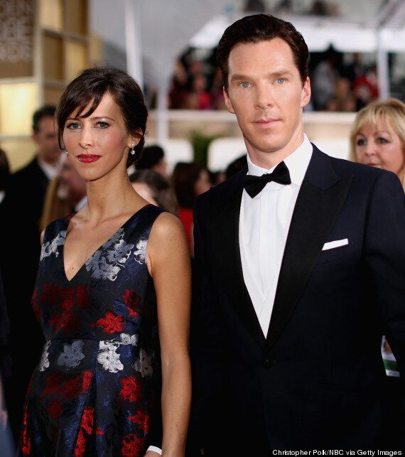Golden Globes 2015: Benedict Cumberbatch And Sophie Hunter Make Their First Appearance Since Confirming...
