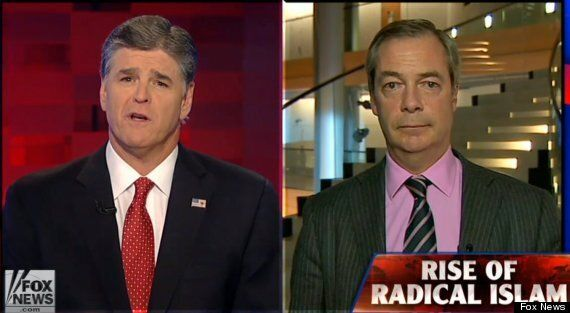 Nigel Farage And Fox News' Sean Hannity Agree 'Sharia Law' Has Come To