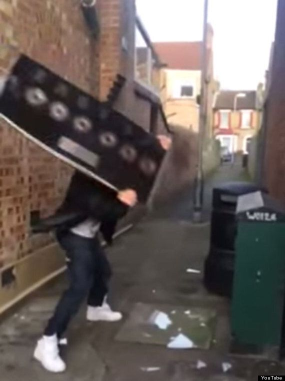 Brian Harvey Smashes Up His East 17 Platinum Discs In Protest At Music Industry's 'Weird Paedophile World