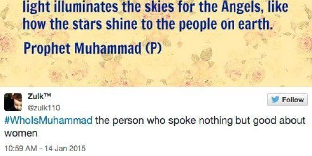 #WhoIsMuhammad Takes Over Twitter To Reclaim The Prophet For