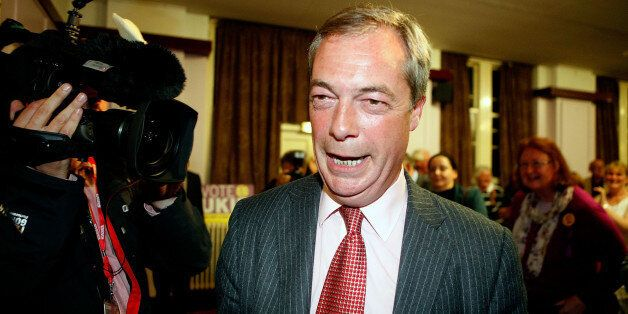 Farage hopes to win in South Thanet in the 2015 general