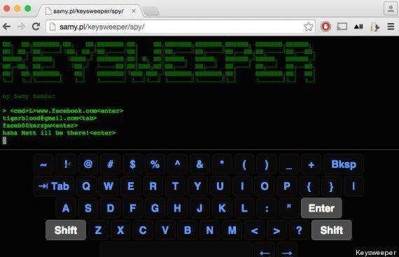 The KeySweeper Can Log Every Keystroke On A Wireless Keyboard, For