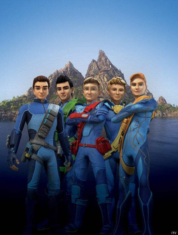 'Thunderbirds Are Go!' First Image Released... And Twitter Isn't Happy About The Characters' 'One Direction...