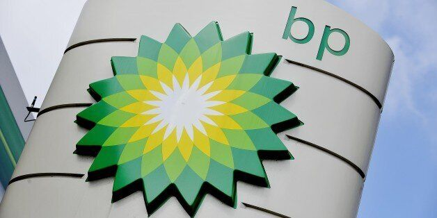File photo dated 15/8/2013 of a BP petrol station sign in Chelmsford, Essex. Energy giant BP has said...