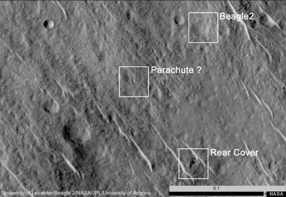 Beagle 2 Found: Images Reveal Location Of UK Mars Lander's 'Successful