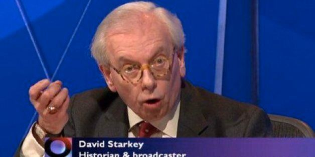 BBC Question Time: David Starkey Says Teenagers Can 'Groom' Their