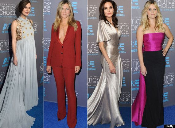Critics' Choice Awards Red Carpet: Angelina Jolie, Jennifer Aniston And Reese Witherspoon Bring The Glamour...