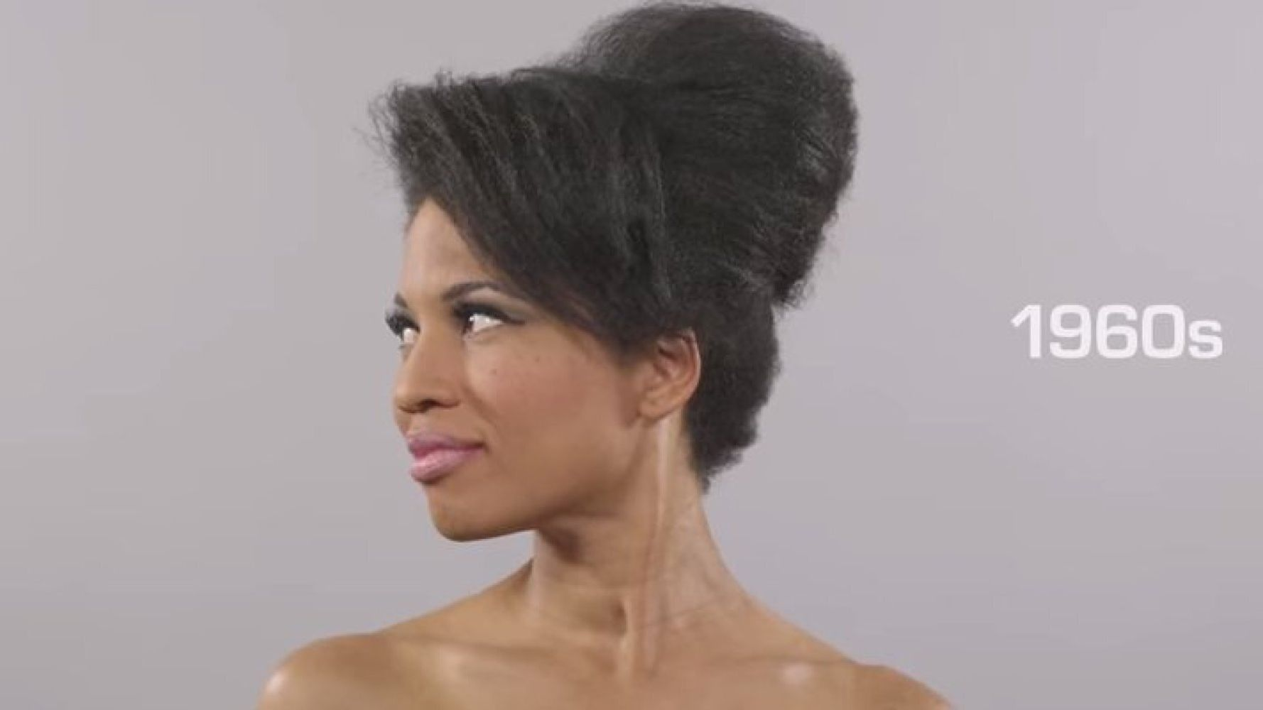 100 Years Of Beauty Time-Lapse Video Released With African-American Model, Marshay Mitchell