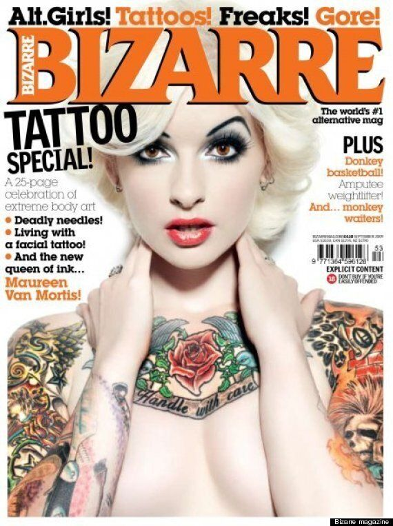 Bizarre Magazine, British Bastion Of Fetish, Freaks, Extreme Tattoos And Porn, Closes After 18