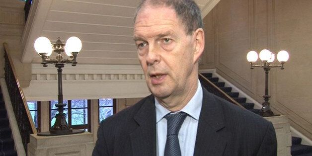 File videograbbed image dated 9/1/2013 of James Arbuthnot, the chairman of the Commons Defence Select...