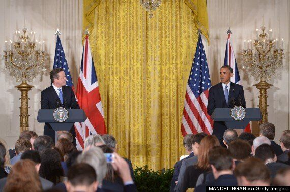 Obama Gives 'Bro' Cameron General Election Boost With Gushing Praise At White