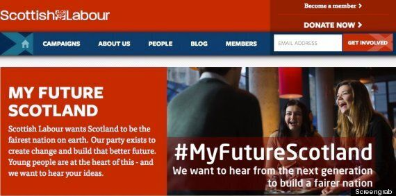 #MyFutureScotland Labour Campaign Mercilessly Hijacked By Scottish Independence