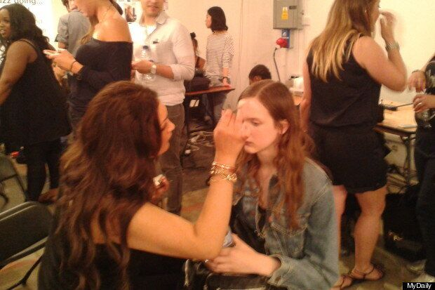 Backstage Hair &Amp; Beauty At London College Of Fashion Graduate Show