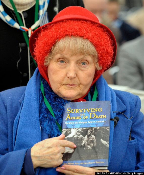 Eva speaks about her experience and has revisited Auschwitz
