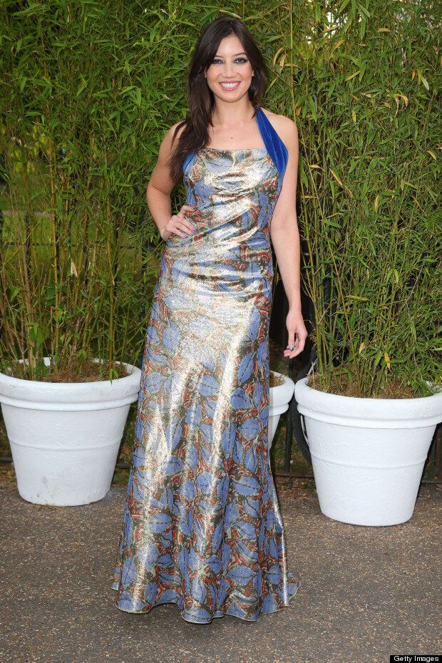 Daisy Lowe Is Radiant In Floor-Sweeping Gown At Serpentine