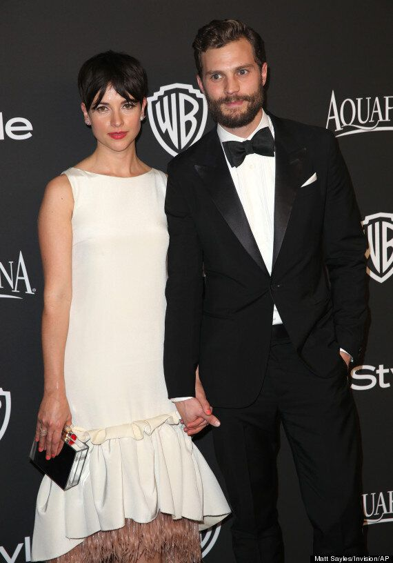 Jamie Dornan Praises 'Brilliant' Wife For Her Support Of His 'Fifty Shades Of Grey' Naked