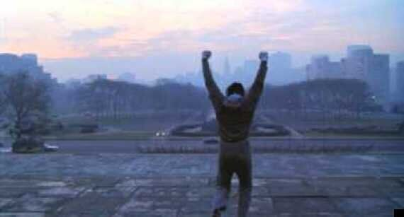 Sylvester Stallone Takes A Selfie With Tourists On Philadelphia's 'Rocky'