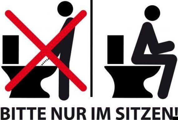 Landlords Cannot Stop Men Standing Up To Urinate, German Court