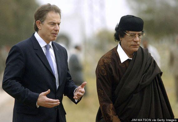 Tony Blair Letter Praises 'Excellent Co-operation' Between British And Libyan Spy