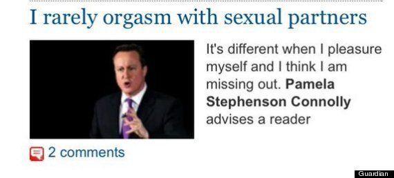 David Cameron Appeals For Orgasm Advice Via Guardian Picture Desk