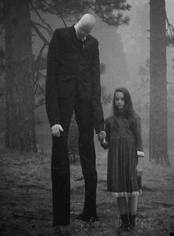 Slender Man Now Said To Be 'Haunting British Beauty Spot Cannock