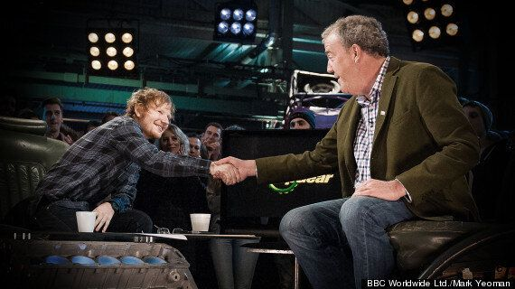 Ed Sheeran Takes On 'Top Gear' 'Star In A Reasonably-Priced Car' Challenge, Despite Not Being Able To