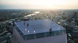 360度透明の空中プール、ロンドンで誕生へ