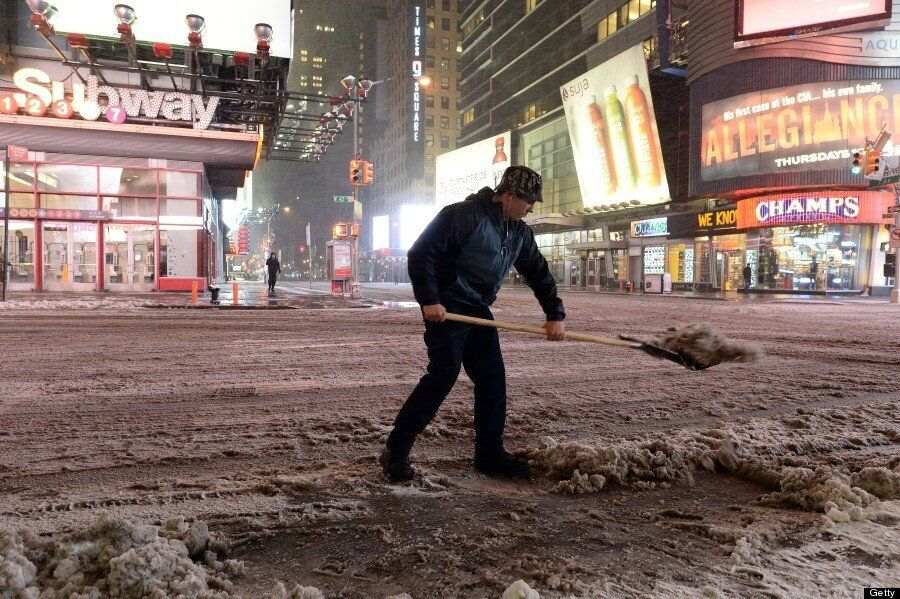 Winter Storm Juno: New York Grinds To A Halt As East Coast Is Battered By