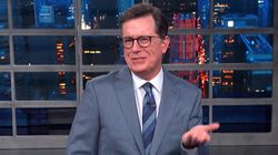 Trump's Bonkers Claim About Babies Stuns Colbert Into 10 Seconds Of
