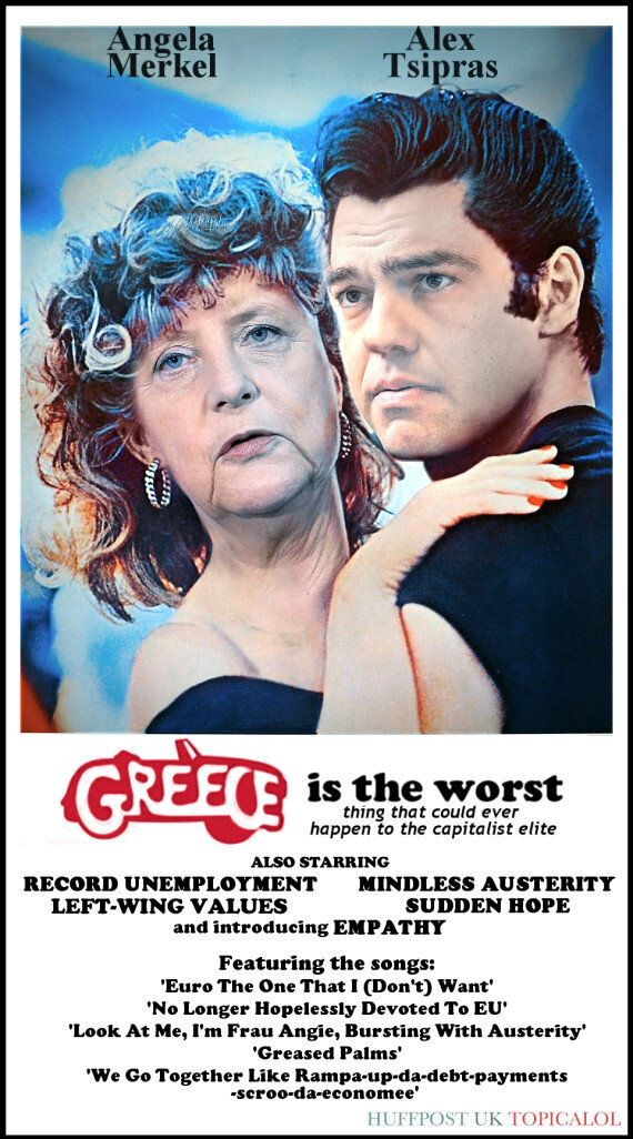 Check Out Alexis Tsipras And Angela Merkel's First