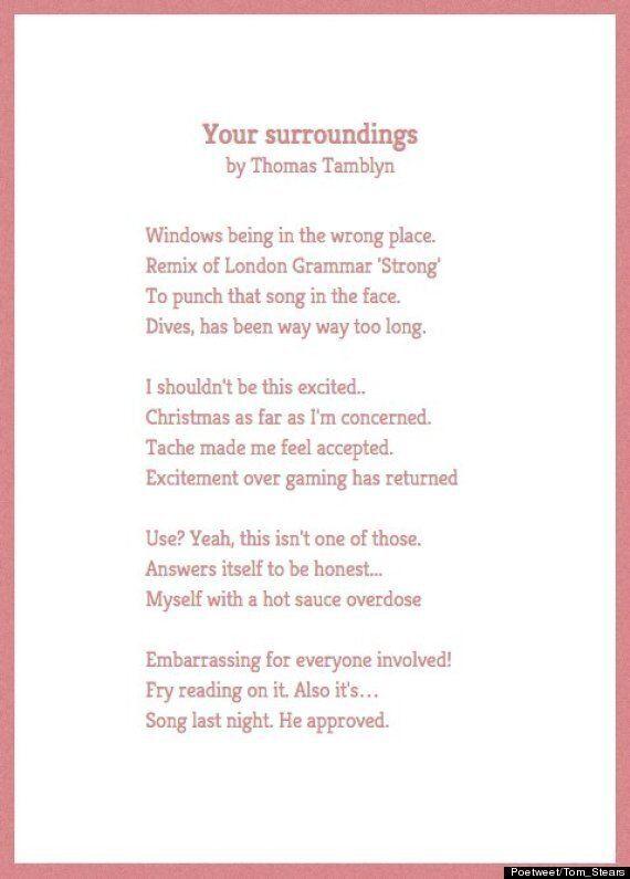 Poetweet Turns Your Tweets Into Beautiful Surrealist