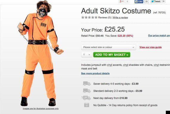 'Skitzo' Halloween Costume Banned For Suggesting People With Schizophrenia Are