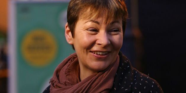 File photo dated 05/01/15 of Green Party MP Caroline Lucas as the countdown begins on Tuesday of the...