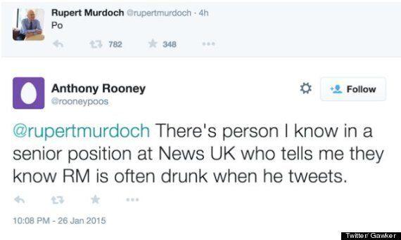 Rupert Murdoch Baffles World With Mysterious 'Po'