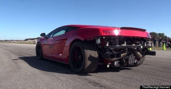 Lamborghini Gallardo Crashes Into Lake In Tremendous Wipe