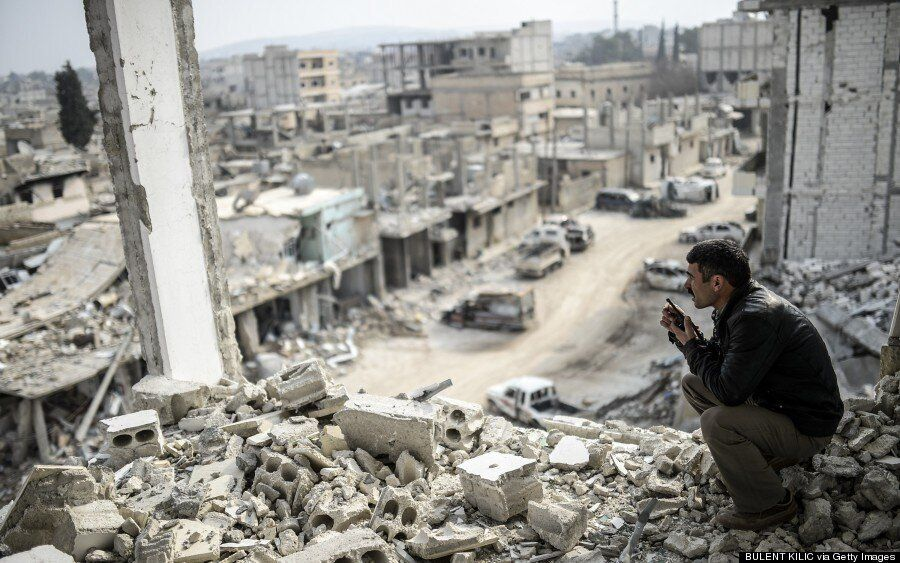 Kobane Pictures Reveal Devastation Of Syrian Town After Isis Was Driven